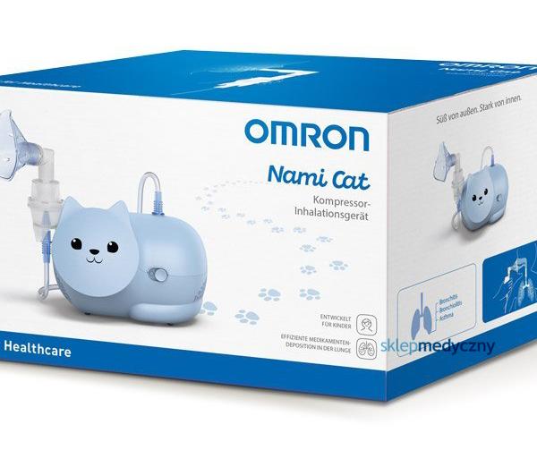 Inhalator dla dzieci Omron Nami Cat